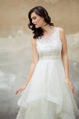 Brautkleid Modell Ribana mit Spitze lacely