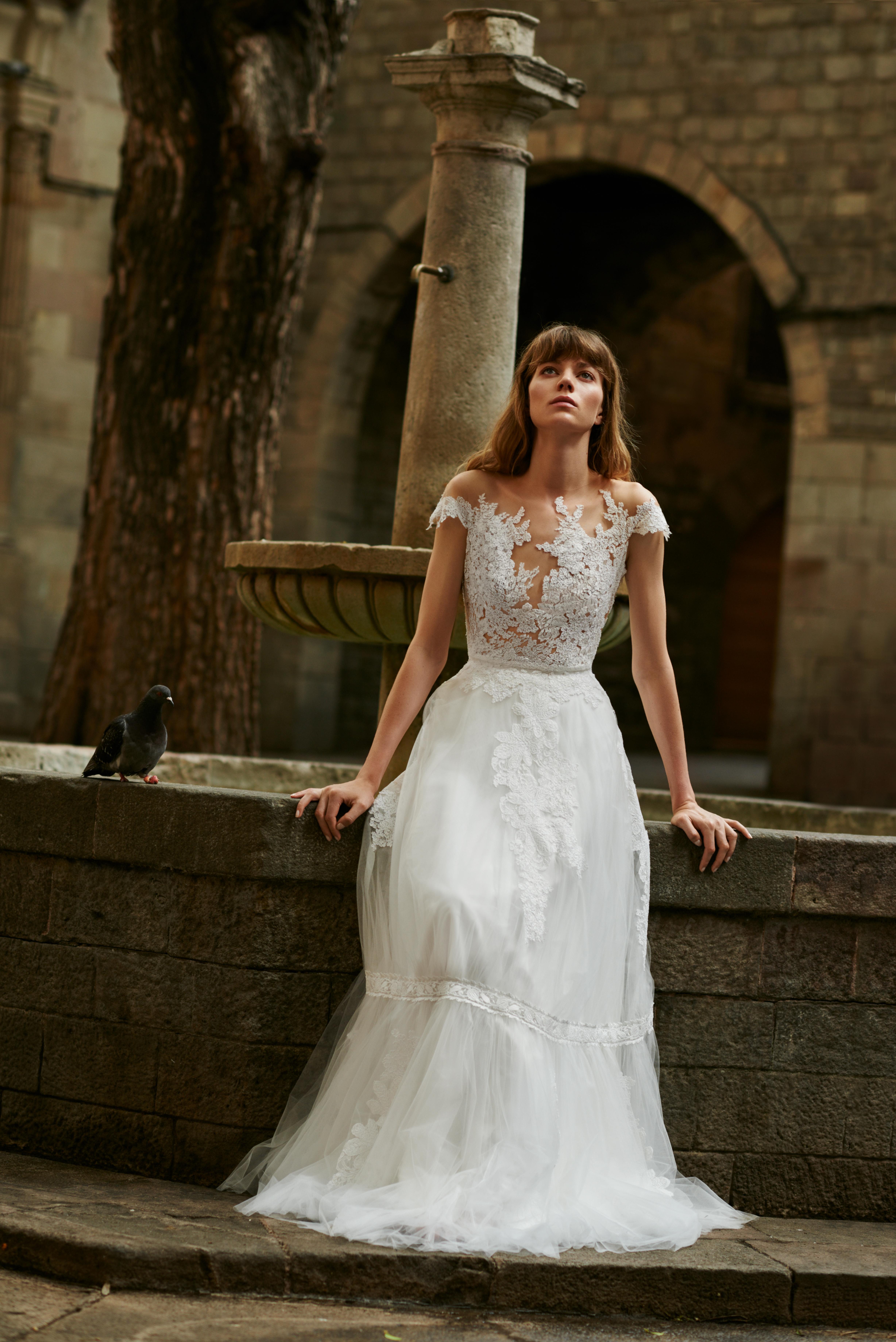 Die Brautkleider der 2018-er Kollektion von Anna Kara bei lacely!