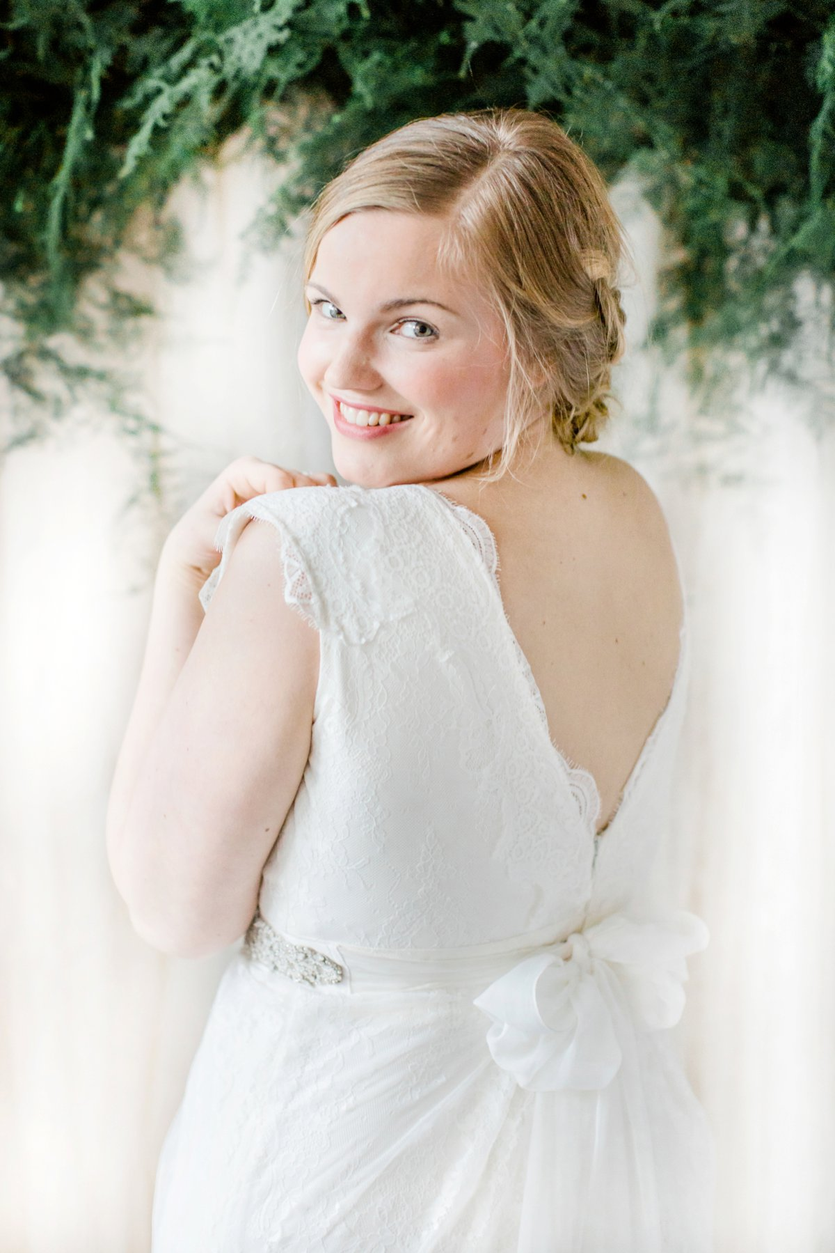 Boho- und Vintage-Brautkleider für Curvy Brides