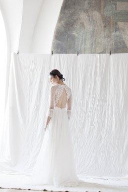 Brautkleid Otilia von Divine Atelier back