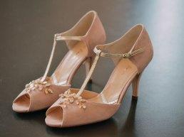 Vintage-Designer-Brautschuhe bei lacely