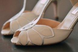 Weiße Designer Brautschuhe in Freiburg